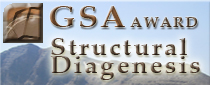GSA Structural Diagenesis Award - The award highlights the need to break down disciplinary boundaries between structural geology and sedimentary petrology