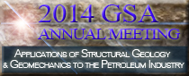 2014 GSA Session - Applications of Structural Geology and Geomechanics in the Petroleum Industry.T190. This session highlights structural geology and geomechanics research with strong petroleum industry applicability. P. Hennings, S. Davis, & S.E. Laubach, chairs