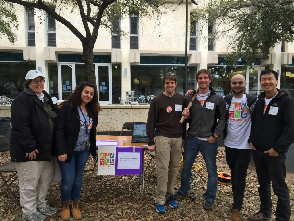 TGS volunteers at the 2015 Explore UT event
