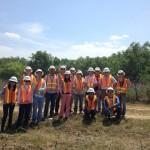 Dawson Geophysical field trip group photo
