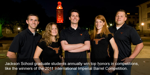 Winners of the 2011 Imperial Barrel Competition