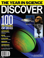 Discover Magazine Cites Two Jackson School Science Stories Among Top 100 for 2010
